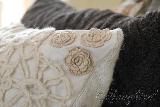 Fall DIY Sweater Pillows 4
