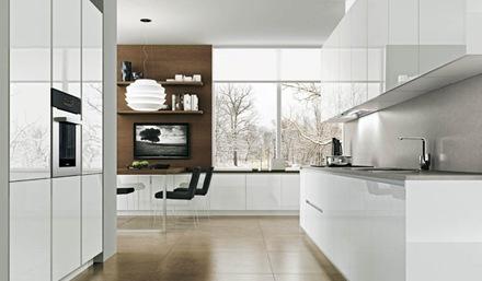 Diseno Cocinas Blancas Y Modernidad En 50 Ideas. Cocinas Blancas Mil ...