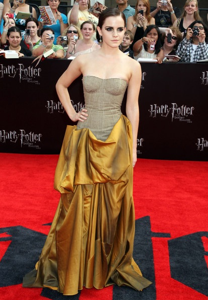 Emma Watson Harry Potter And The Deathly Hallows Part 2 New York Premiere
