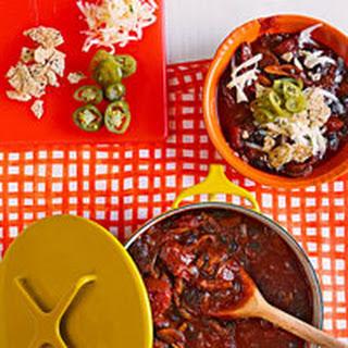 Mushroom, Ancho & Black Bean Chili.