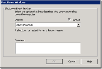 One of the most annoying dialogs on non-production servers...