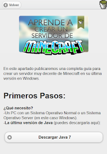 Crea tu Servidor de Minecraft- screenshot thumbnail