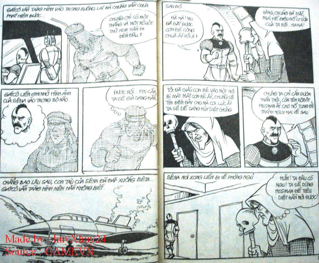 Dũng Sĩ Hesman chap 26 trang 16