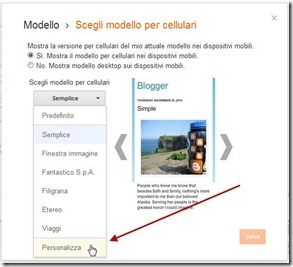 personalizzare-blogger-mobile