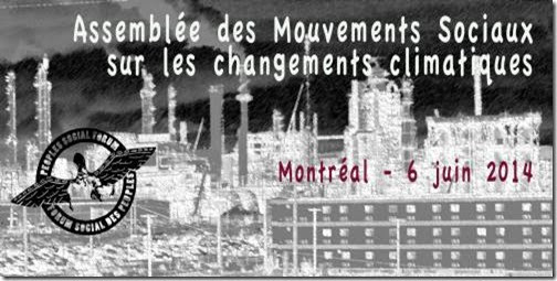 Montreal PSF prep meeting banner