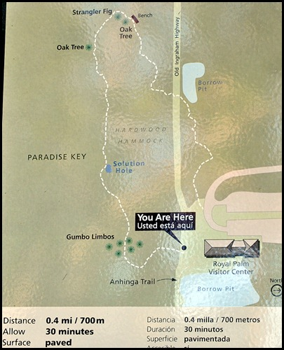 18 - Gumbo Limbo Trail Map