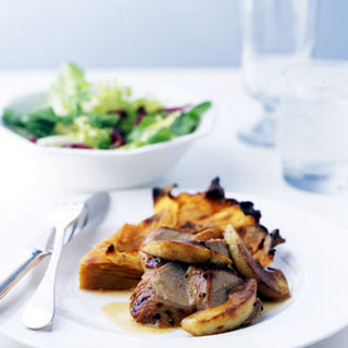 Roast Pork Tenderloin with Apples and Cider Sauce