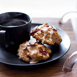 Strawberry-Almond Scones