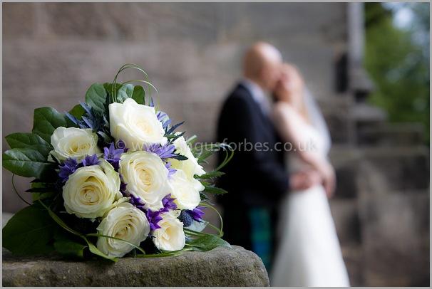 bridal flowers in dollar scotland