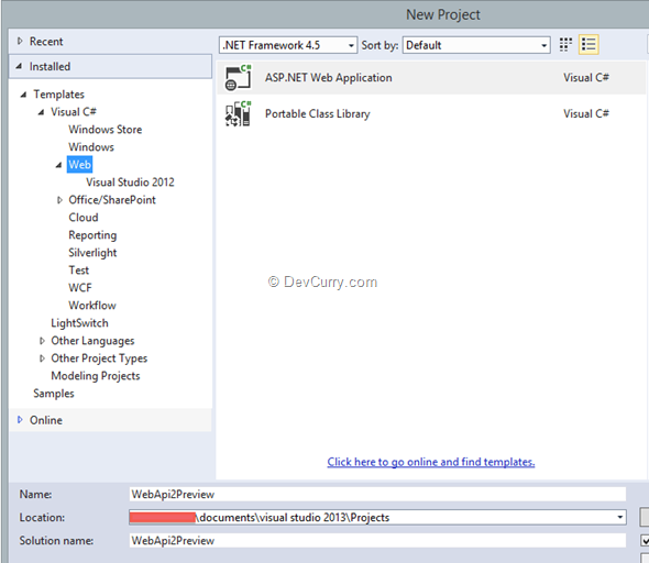 visual-studio-new-project-dialog