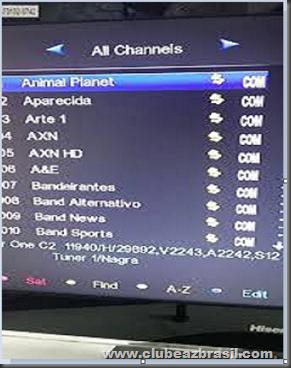 Tutorial Azamerica S1001 Clone e Configuração do iks – Clube