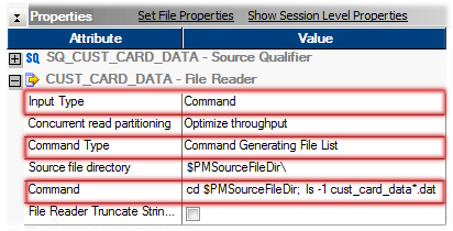 Informatica Source, Target Command Makes File Processing Easier than