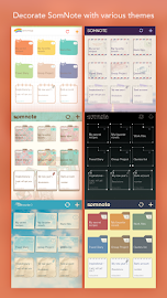 SomNote - Beautiful note app Screenshot 15