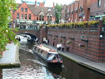 Canal Brindley Place