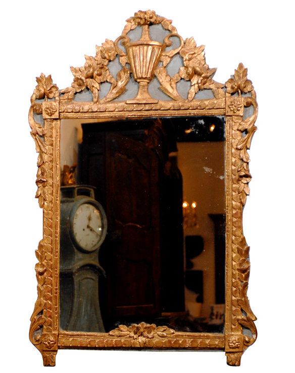 Antique French Living An Addiction To Mirrors Amp How To