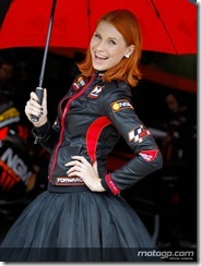 Paddock Girls Monster Energy Grand Prix de France  20 May  2012 Le Mans  France (6)