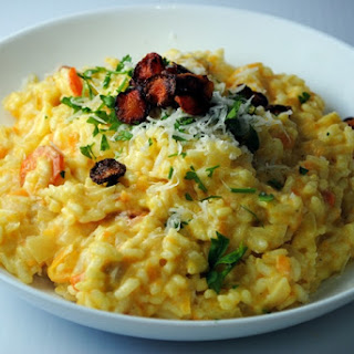 Risotto with Carrots Four Ways
