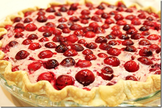 Cranberry Cheesecake Pie {createdbydiane}