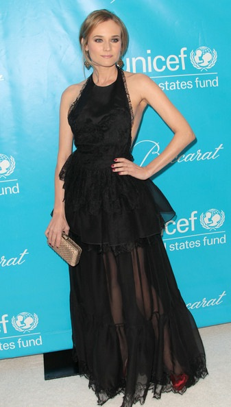 Diane Kruger 2011 Unicef Ball Arrivals