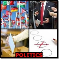 POLITICS- 4 Pics 1 Word Answers 3 Letters