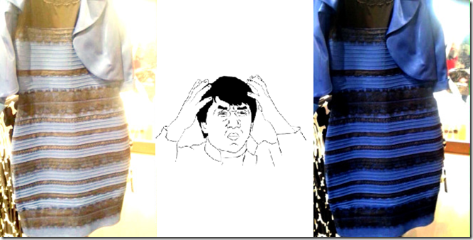 Internet is a weird house to live on as well as it was proved yet in ane trial to a greater extent than #thedress Debate breaks the Internet. Blue as well as Black or White as well as Gold?