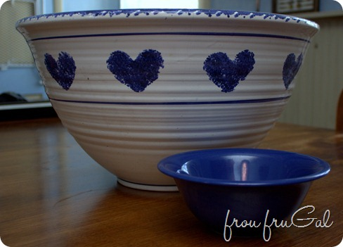 Love Bowl and Soup Bowl