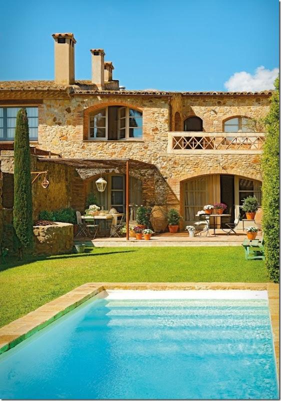 case e interni - cas a campagna - stile rustico country  - Spagna (13)