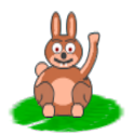 Super Bunny logo
