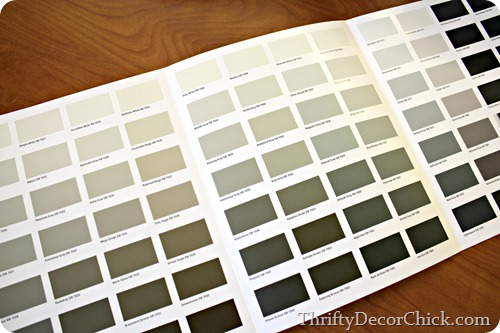 tips for picking paint colors