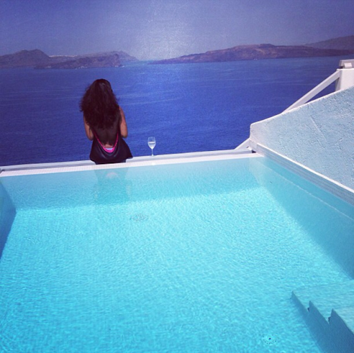 PHOTOS: Sylvia Nduka And Ene Maya's Vacation in Santorini Greece 18
