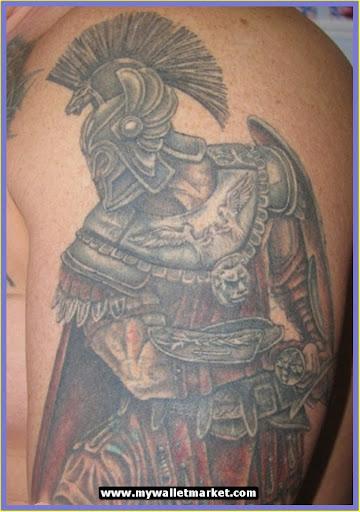 Roman Military Tattoos...