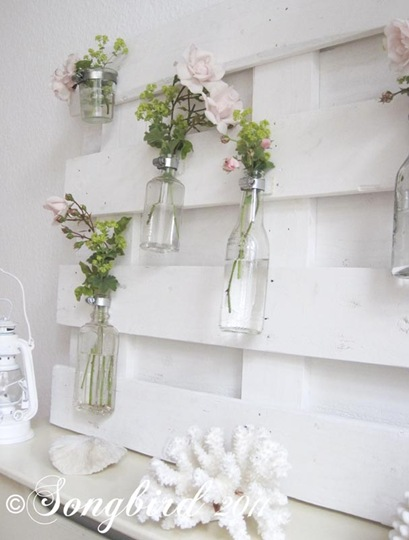 Summer Mantel with Roses 4