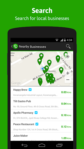 Lookup: Chat with local stores