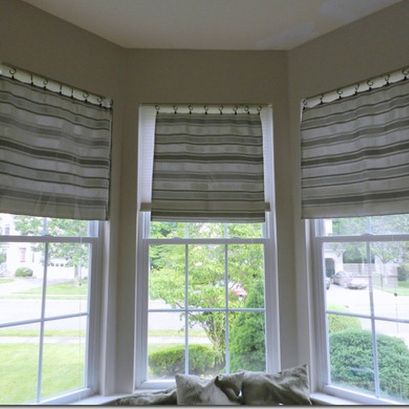 Faux Bay Window Curtain Rods