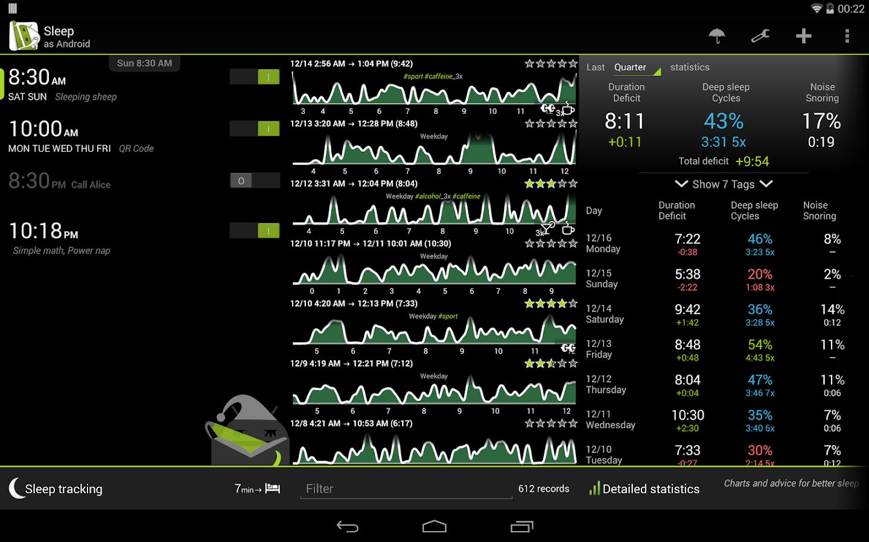 Sleep as Android - screenshot