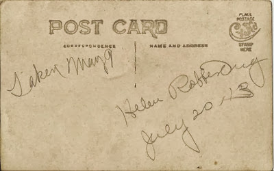 July 20 1913 Helen Rofferburg pequot Lakes Ant back