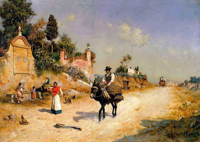 Museo Carmen Thyssen Málaga - 1 Guillermo Gómez Gil. La fuente de Reding.jpg