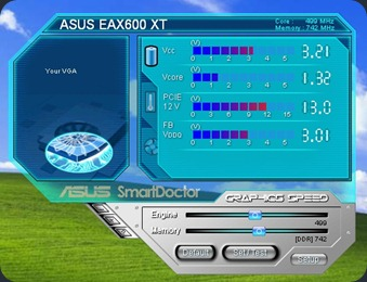 Graphics Card Utilities - ASUS SmartDoctor