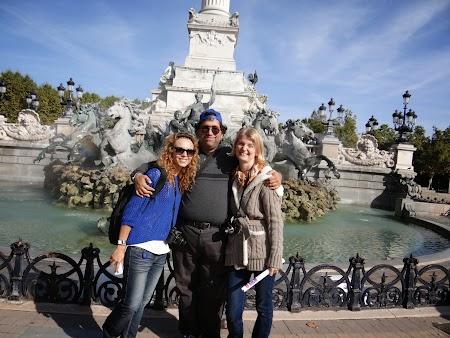 Cu Simona si Adriana la Bordeaux