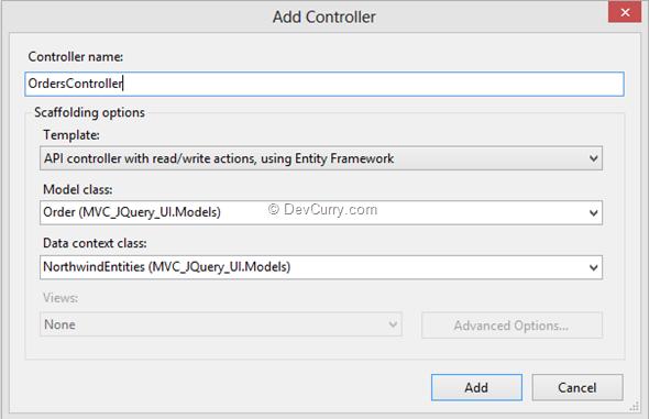 DevCurry: Client Side Progress Bar in ASP NET MVC using