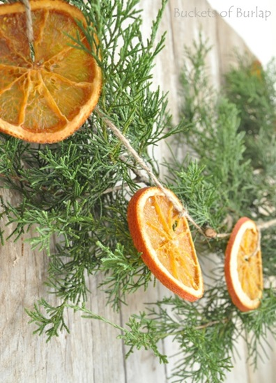 Dried Orange Garland Becky S Farmhouse