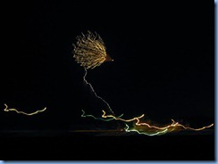 6604 Texas, South Padre Island - KOA Kampground - South Padre Island's New Years fireworks from our RV