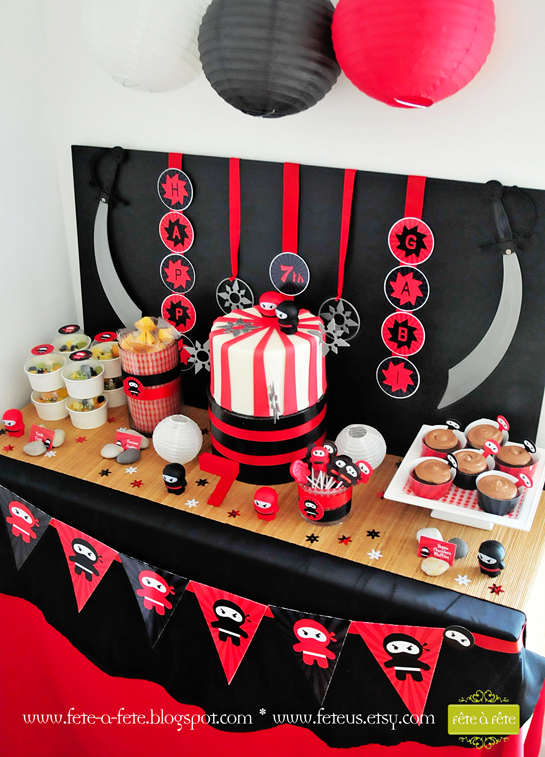 ninja-cake-&-sweets---Ninja-Party-by-Fete2