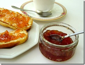 Gooseberry and Sloe Gin Jam