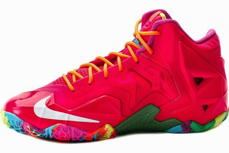 Coming Soon Nike LeBron XI GS 8220Fruity Pebbles8221 ... de8229c61