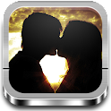 Love images with poems icon