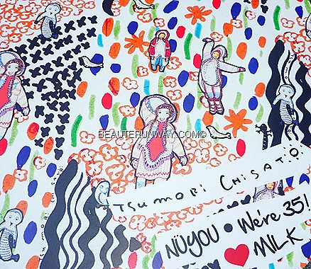 Tsumori Chisato Singapore Nuyuo 35th Anniversary MILK fund