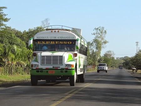 15. Chicken bus in Nicaragua.JPG