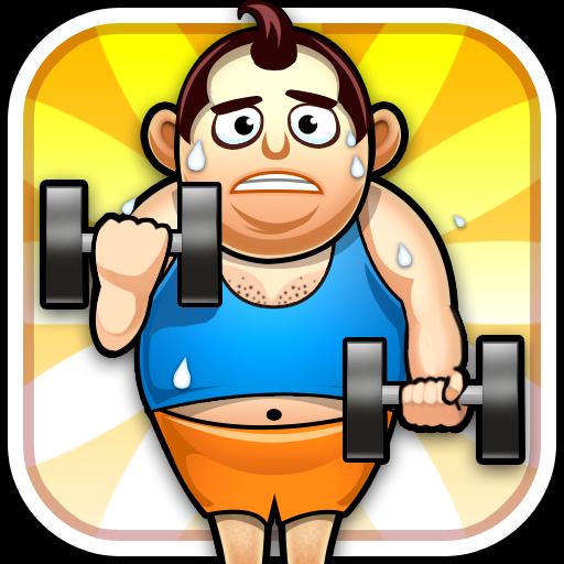 Fat Man Fitness - Mini Games 休閒 App LOGO-硬是要APP