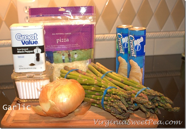 Asparagus Square Ingredients